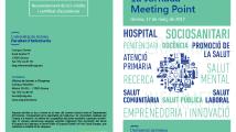1a Jornada del Meeting Poing del Hospital de dia de Malgrat de Mar