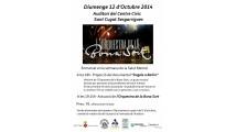 Actuació de l'Orquestra de la Bona Sort a San Cugat Sesgarrigues
