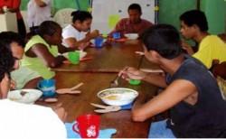 Centre de Dia durant el dinar - Bluefields (Nicaragua) - (I.F.)