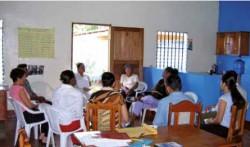 Reunió de familiars d'usuaris en el Centre de Dia - Bluefileds - Nicaragua (M.M.)
